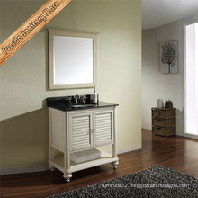 Chinese Factory Solid Wood Custom Bathroom Vanity